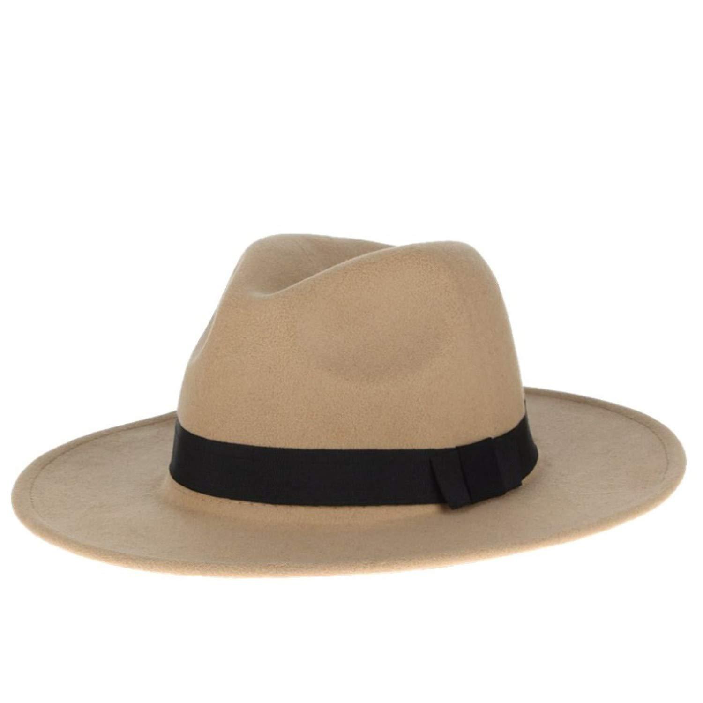 Casual Sun Hats Solid Color Men Summer Hats for Cap Church Jazz Hats Wide Brim Sunhats