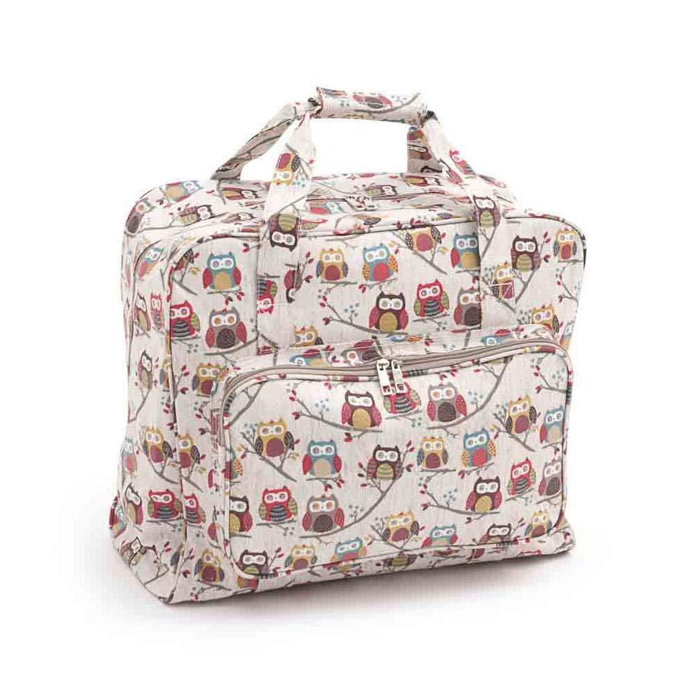 Hobby Gift MR4660/195 | Hoot PVC Sewing Machine Bag 20x43x37cm HobbyGift