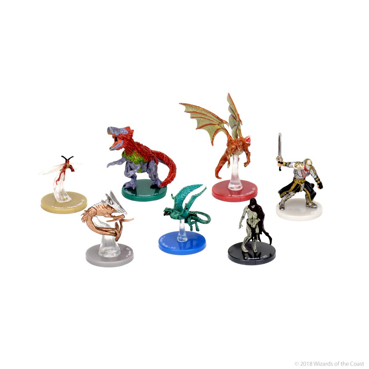 WizKids Magic: The Gathering Creature Forge Overwhelming Swarm 24 Piece Set  Toy