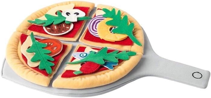 IKEA DUKTIG 24-Piece Pizza Set Pizza Multicolor 804.278.19