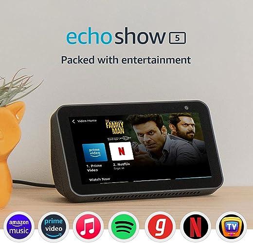 Introducing Echo Show 5 - Smart display with Alexa - 5.5