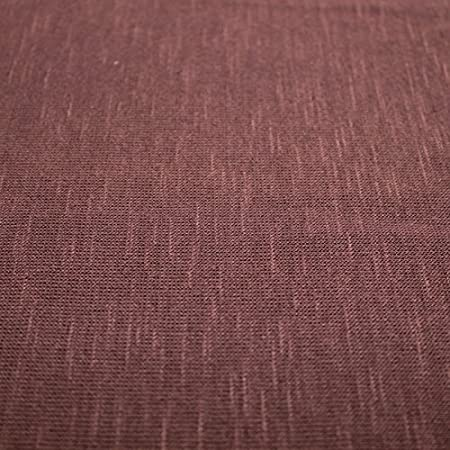 Hacci Slub Sweater Knit Fabric by The Yard (Toffee)