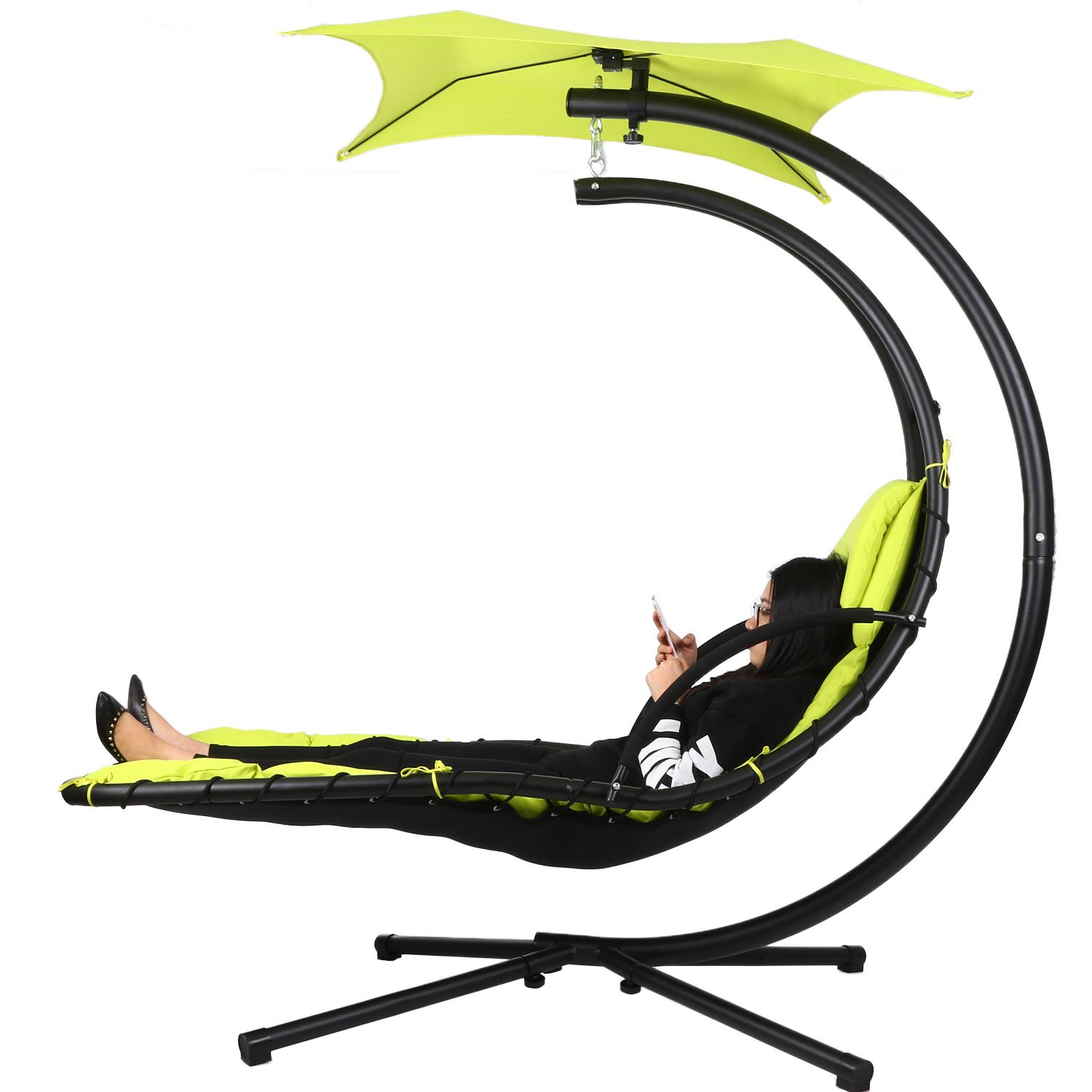 Amazon Ancheer 350lbs Max Weight Capacity Hanging Chaise