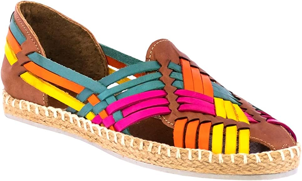 Womens 106 Rainbow Mexican Leather