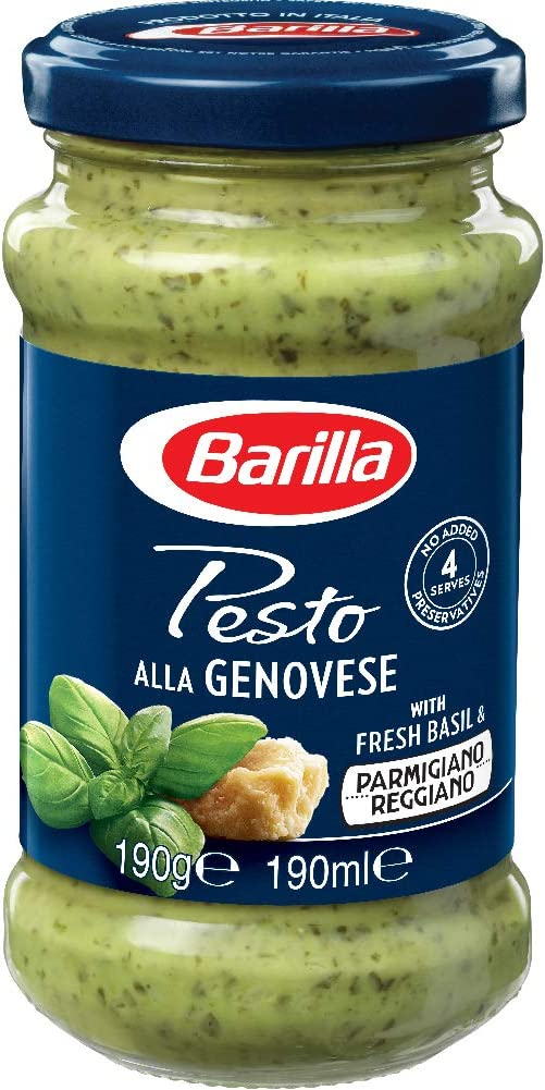 Barilla Pesto Genovese Sauce 190g Amazon Co Uk Grocery