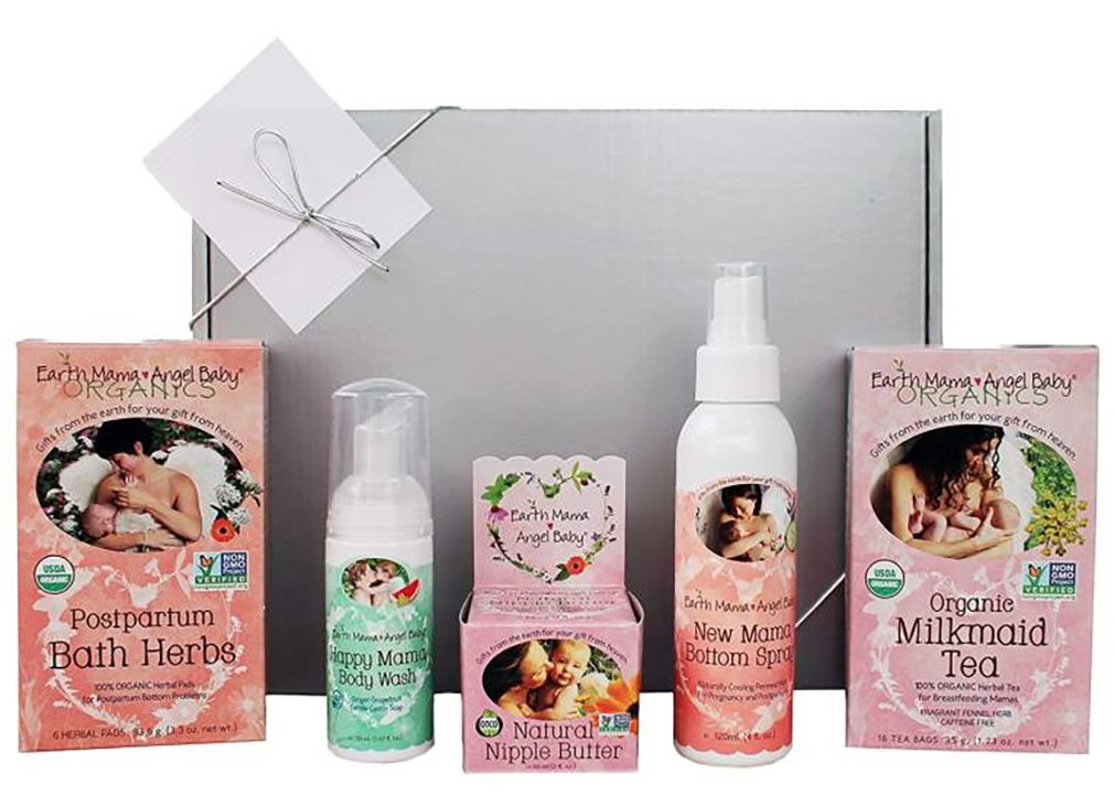 Amazon.com  Earth Mama New Mom Organic Gift Box   Set of 5 Earth Mama Items  Beauty  sc 1 st  Amazon.com & Amazon.com : Earth Mama New Mom Organic Gift Box   Set of 5 Earth ...
