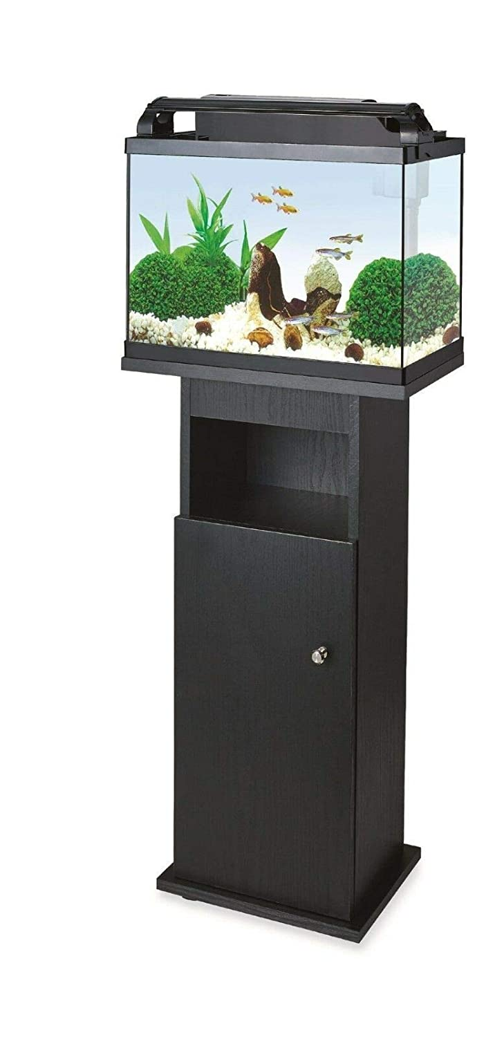 B-Creative Aquarium Glass Fish Tank with Cabinet, Integrated Bio Filter, All Accessories