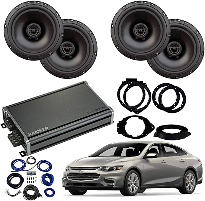 Compatible with Chevy Malibu 2008-2012 Factory Speaker Upgrade Harmony R65 R69 Package New