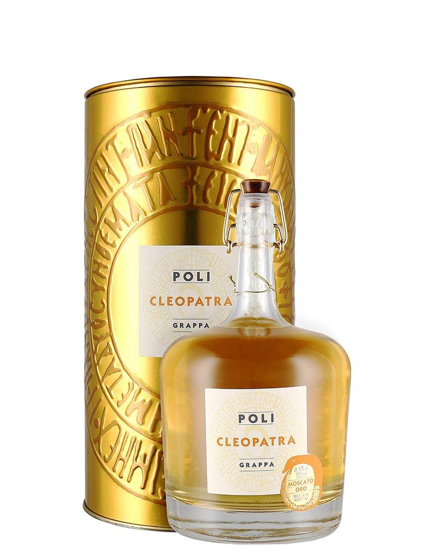 Immagine di Grappa Moscato Oro Cleopatra Astucciato Poli Distillerie 0.7 l astucciato - B00NZ81J0O