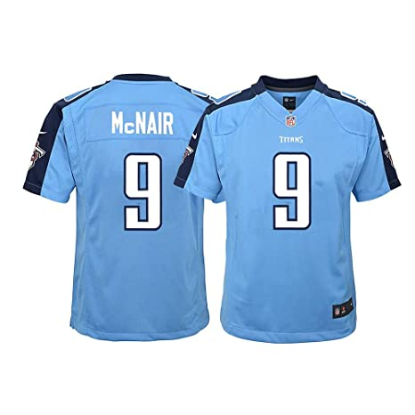 25470d3f Amazon.com : Nike Steve McNair Tennessee Titans NFL Youth Light Blue ...