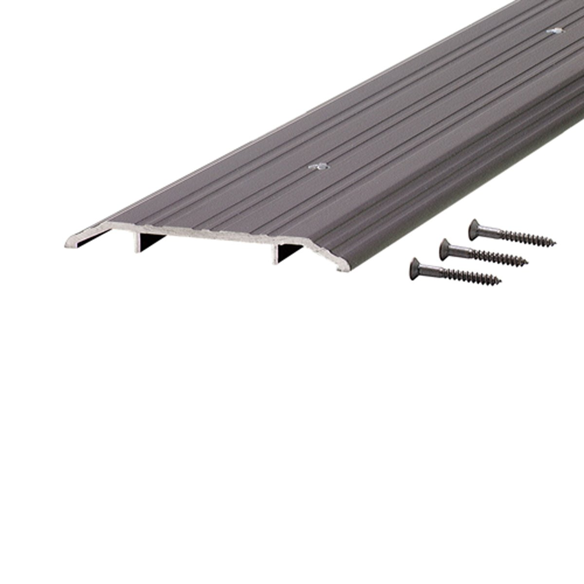 M-D Building Products 68346 1/2-Inch by 5-Inch - 36-Inch TH015 Fluted Saddle, Bronze