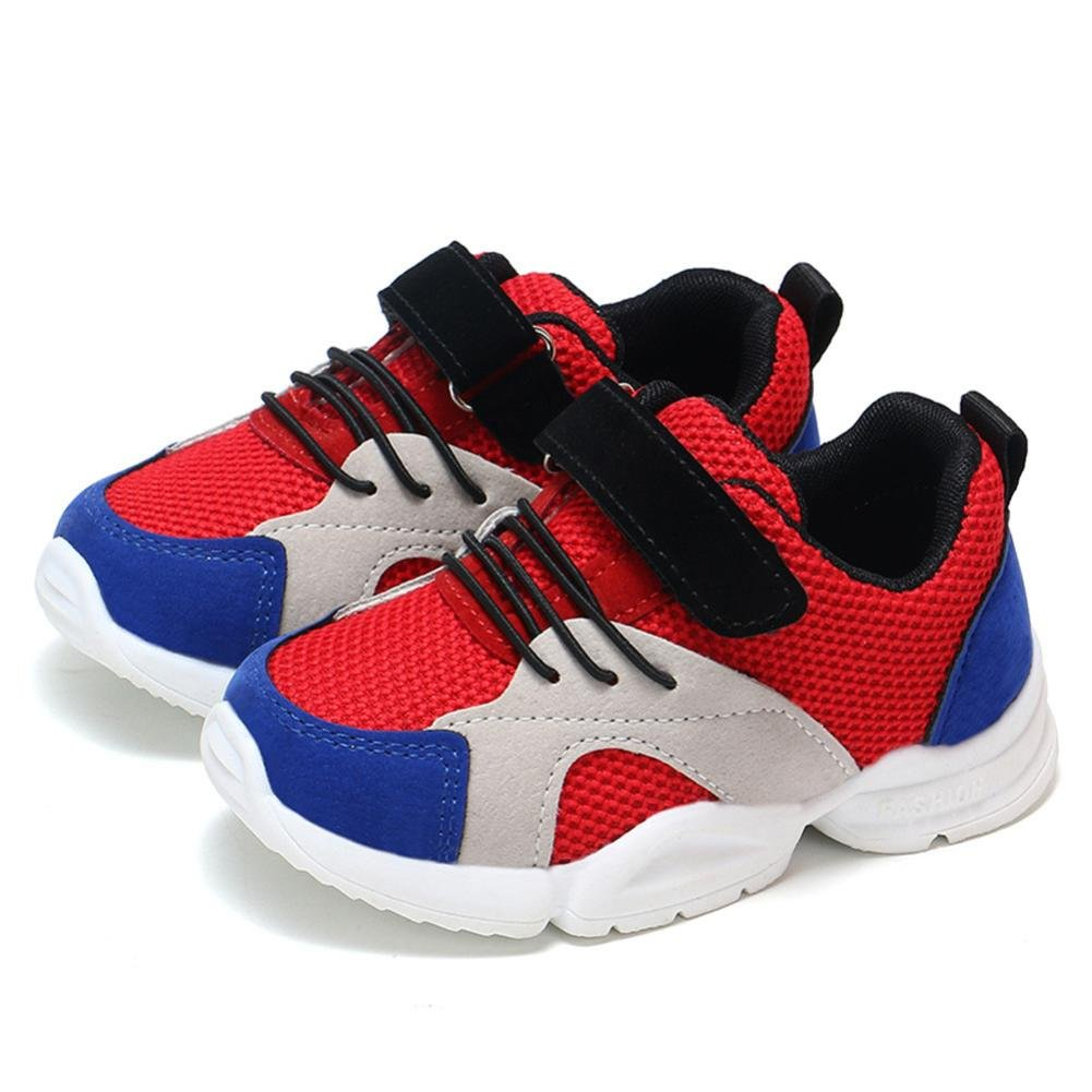 ZODOF Ni/ño peque/ño Beb/é Ni/ños Ni/ñas Ni/ños Zapatillas de Deporte Casuales Malla Zapatillas de Deporte Zapatos Zapatillas Respirable Mocasines