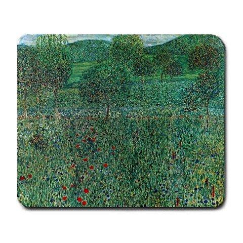 Garden Landscape By Gustav Klimt Mouse Pad
