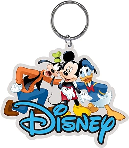 Amazon.com: Disney 3 Amigos Llavero Goofy Mickey y Donald ...