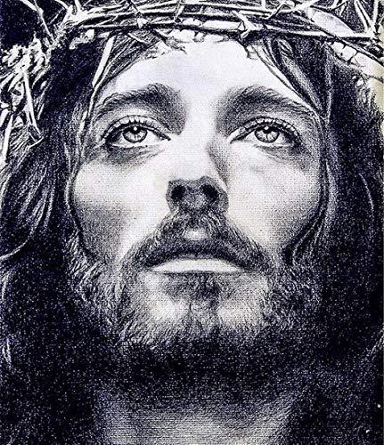 Apomelo 12×16 inches Diamond Painting Jesus Christ Full Paint with Diamonds Dotz Bead Art Kts for Adults,Jesus of Nazareth