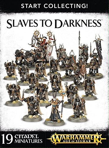 Games Workshop 99120201058 Start Collecting Slaves to Darkness Tabletop and Miniature