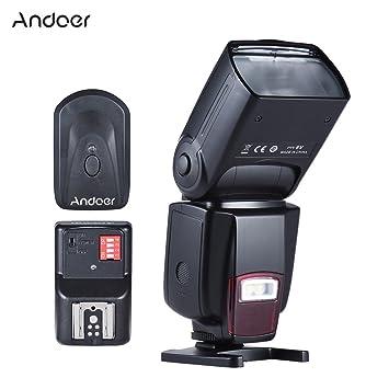 Andoer ad-560ii Flash Speedlite para cámaras réflex digitales ...