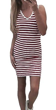 Lounayy Mini Vestido Vestido Cóctel Verano para Mujer Vestido ...