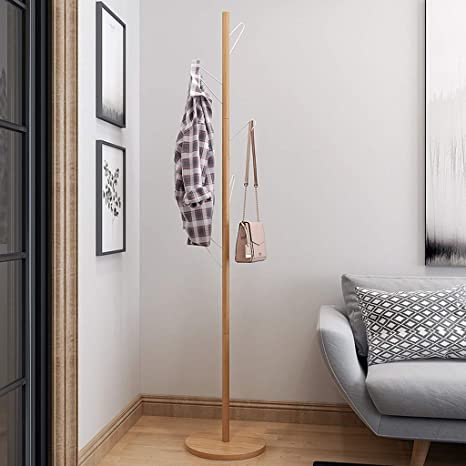 Coat Stand - ♢ YMJ Perchero de pie Estante de Ropa de ...