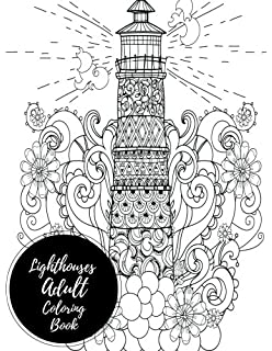 Lighthouse Coloring Book 20 Lighthouse Designs in a Variety of
