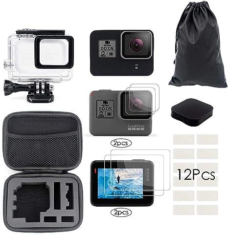 Kit de Accesorios para GoPro Hero 7 6 5 Carcasa Impermeable de ...