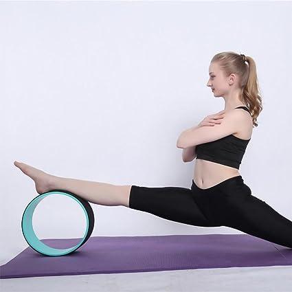 GFEU - Rueda de Yoga, Rodillo Antideslizante diseñado para ...