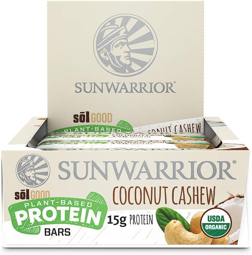 Sunwarrior Sol Good Protein Bars (12x57g) 12 Unidades 684 g ...