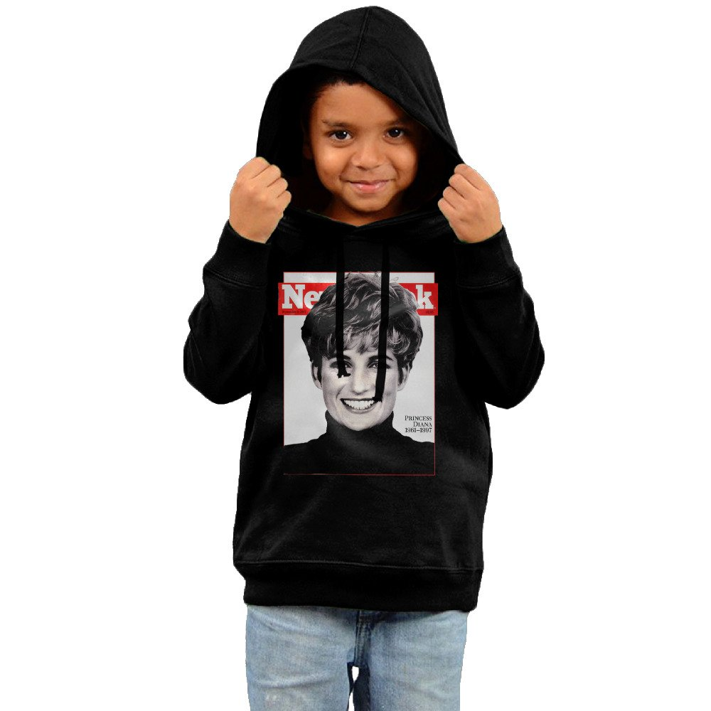 Toddler Princess Diana Smile Pictures Posters 2016 Hooded Unisex