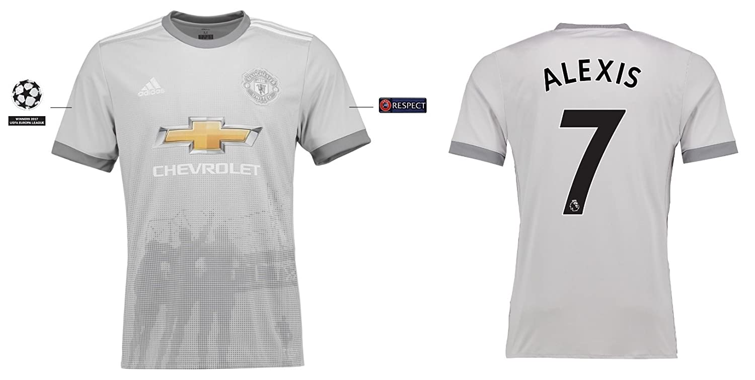 Trikot Kinder Manchester United 2017-2018 Third UCL - Alexis 7