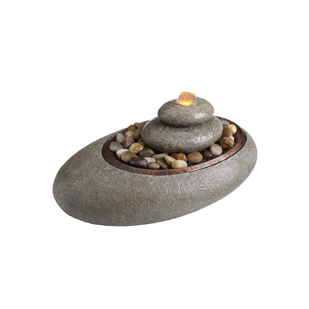 HoMedics Oceanside Tabletop Relaxation Fountain, Natural