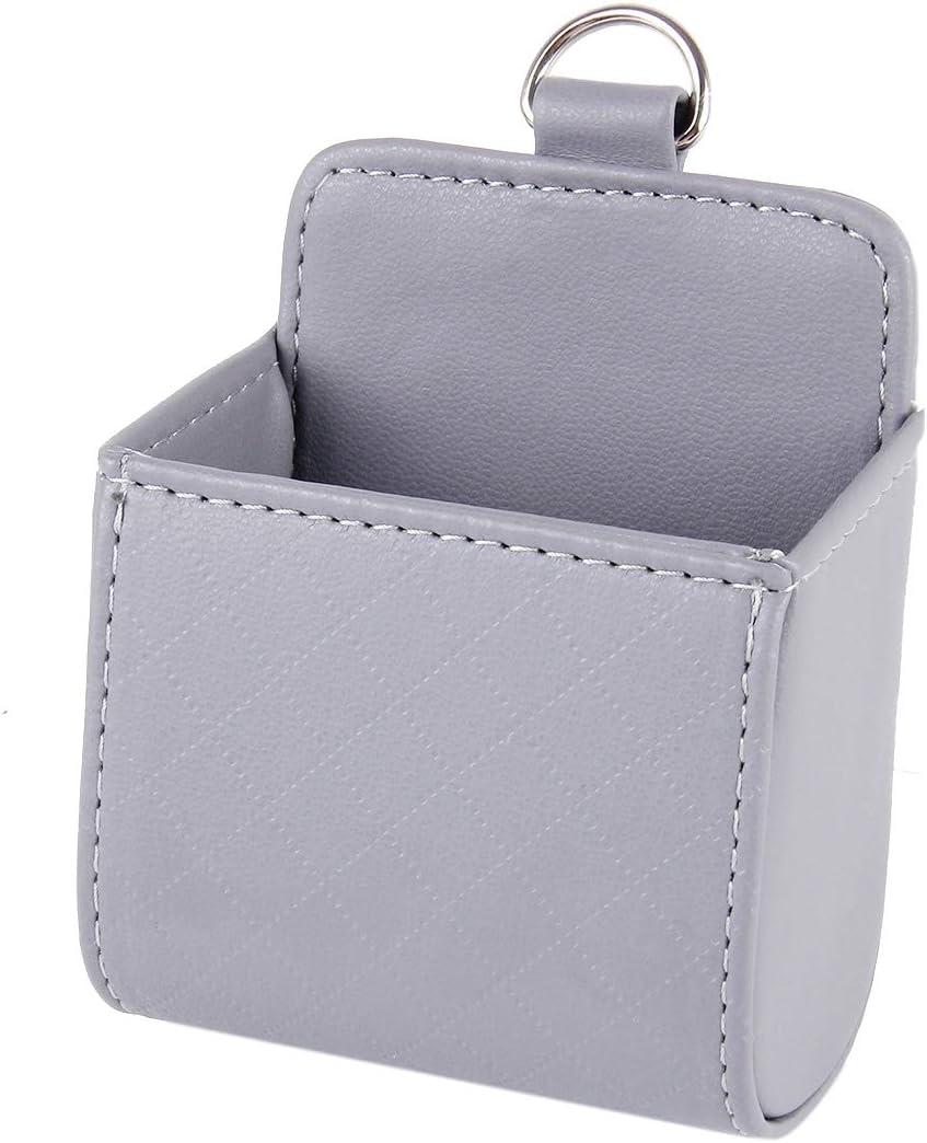 Color : Black NIEFENG Auto Lagerung Auto Entl/üfter Mobilhandytasche Tasche tragbaren Mini-Speicher-Beutel-Beutel-Kasten-Speicher-Organisator Tragetasche