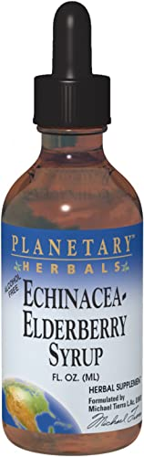 Planetary Herbals Echinacea-Elderberry Syrup , 4 fl oz 128.28 ml