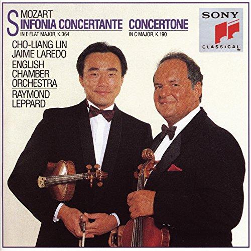 Mozart: Sinfonia concertante in E-flat Major, K. 364 & Concertone in C Major, K. 190