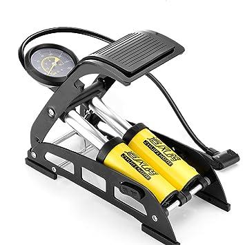 1x High Pressure Foot Pump Inflater Tyre Air for Bike Ball Car