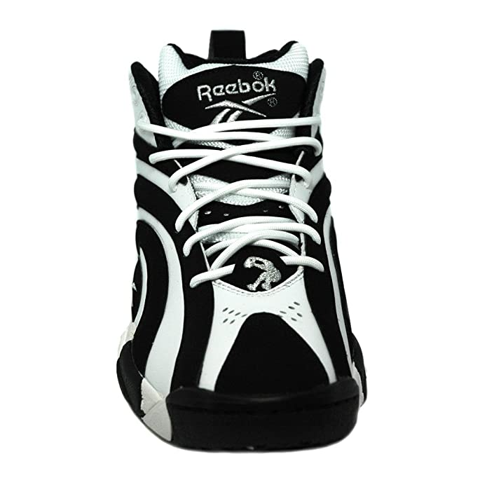 48cb91b5d7f Reebok - Shaqnosis OG - Basketball - High Top - Sneaker - Black White   Amazon.co.uk  Shoes   Bags