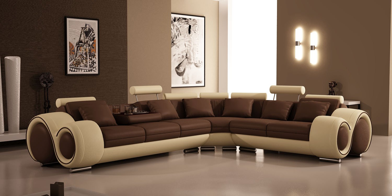 Swell Amazon Com Tosh Furniture Franco Sectional Sofa Kitchen Ocoug Best Dining Table And Chair Ideas Images Ocougorg