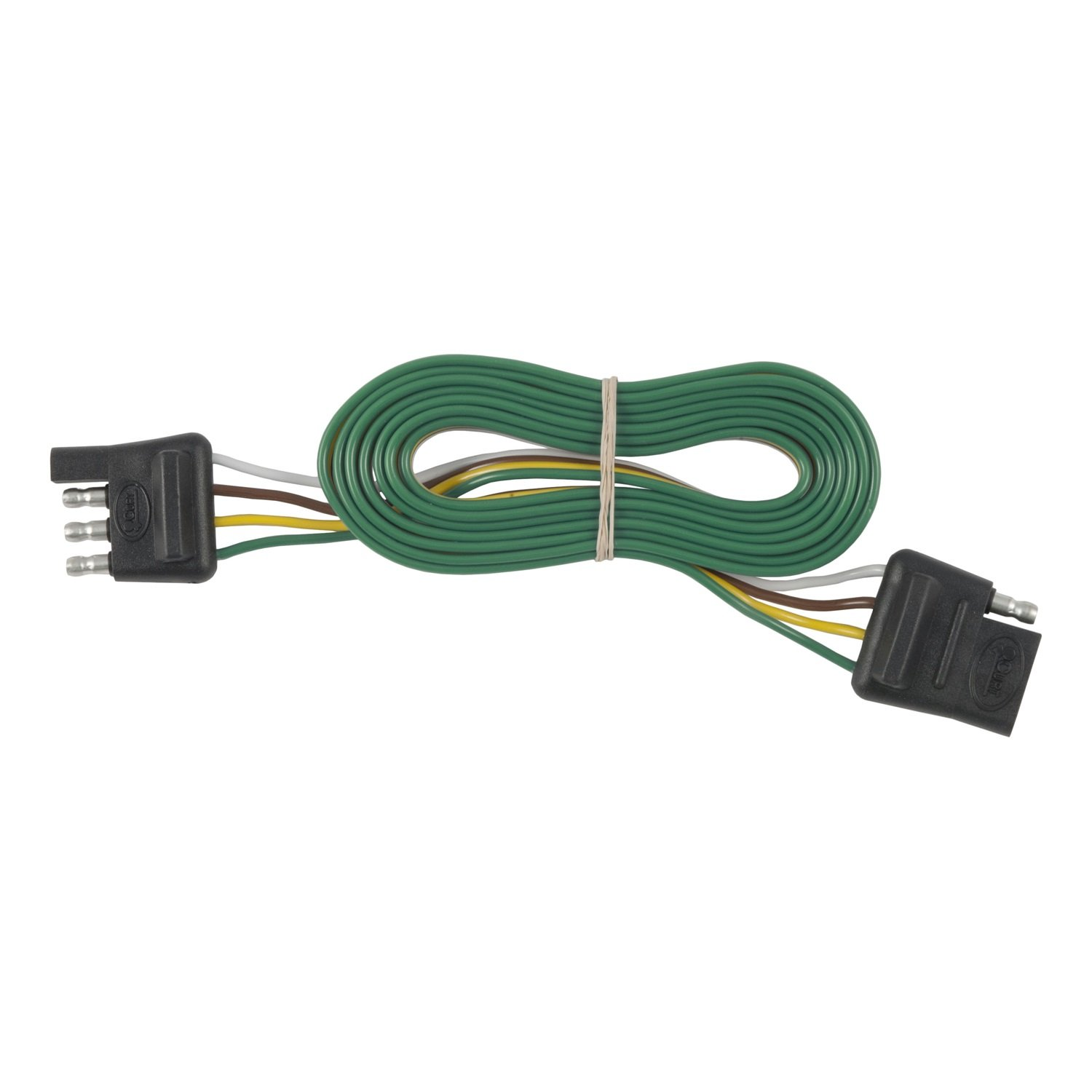 Best Rated In Trailer Connectors Helpful Customer Reviews Junction Box 7 Wire Schematic Wiring 101 Curt Manufacturing 58050 Towing Product Image