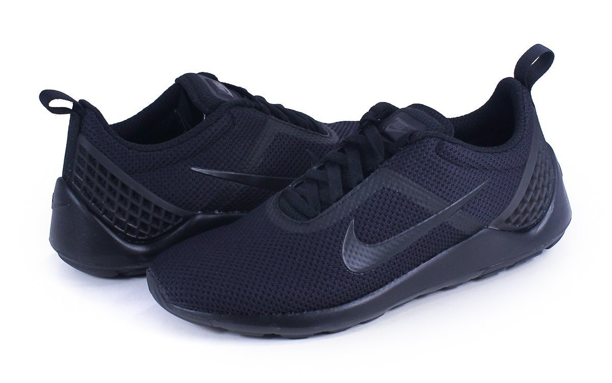 NIKE Men's Lunarestoa 2 Essential Running Shoes B01B9DII8W 9 D(M) US|Black/Black