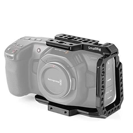SMALLRIG BMPCC 4K, 6K Media Cage Compatible con Blackmagic Pocket ...