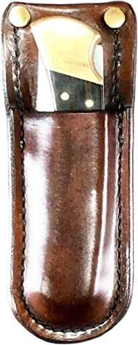 Hardcore Leather BEASTLY Working Man s Buck Knife Sheath 110 112