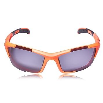 331ffba004 Hulislem Cycling Fishing Golf Blade Sport Polarized Sunglasses  (Smoke-MatteBlack)  Amazon.ca  Sports   Outdoors