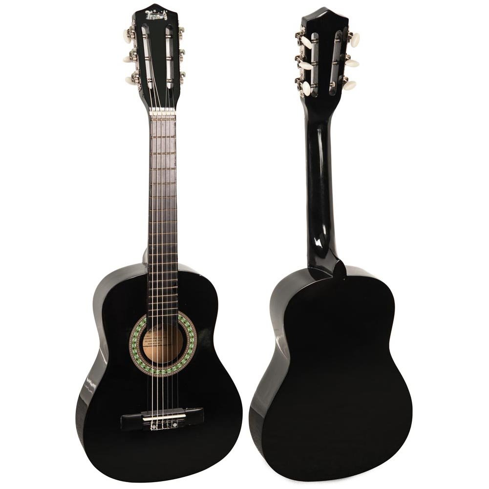 Trendy 30 Inch Classical Guitar 1 2 Size Package Free Download Iceman Bass Wiring Diagram Basswood Black Musical Instruments