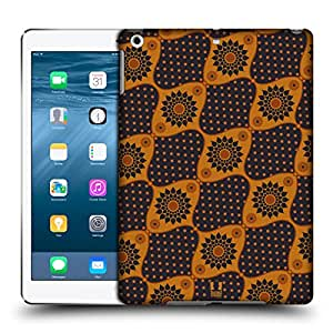 Head Case Designs Dark Flowers Batik Hard Back Case for Apple iPad Air