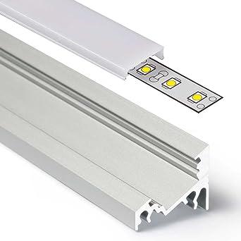 Bekannt 2m Aluprofil CORNER (CO) Ecke 2 Meter Aluminium Profil-Leiste LH25