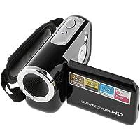 MagiDeal 720P Digital Camcorder Portable Video Camera DV DVR 8X Zoom 18'' Screen Black