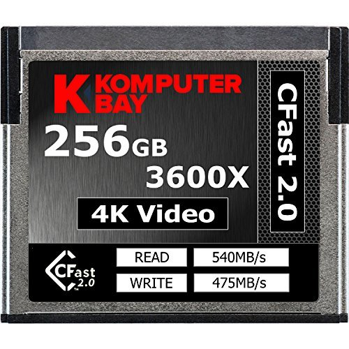 237 opinioni per Komputerbay professionale 3600x 2.0 Card 256GB CFast (fino a 540 MB / s in