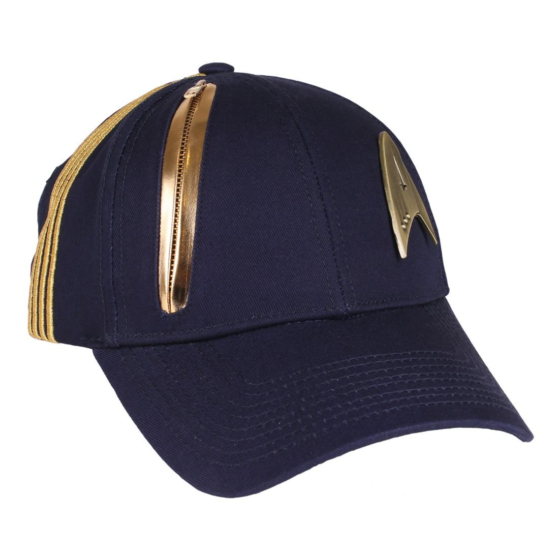 Star Trek Basecap Discovery Logo pour la sé rie coton bleu Elbenwald