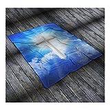 BO15 Faith Collection - Blanket (50'' x 60'', White Cross)