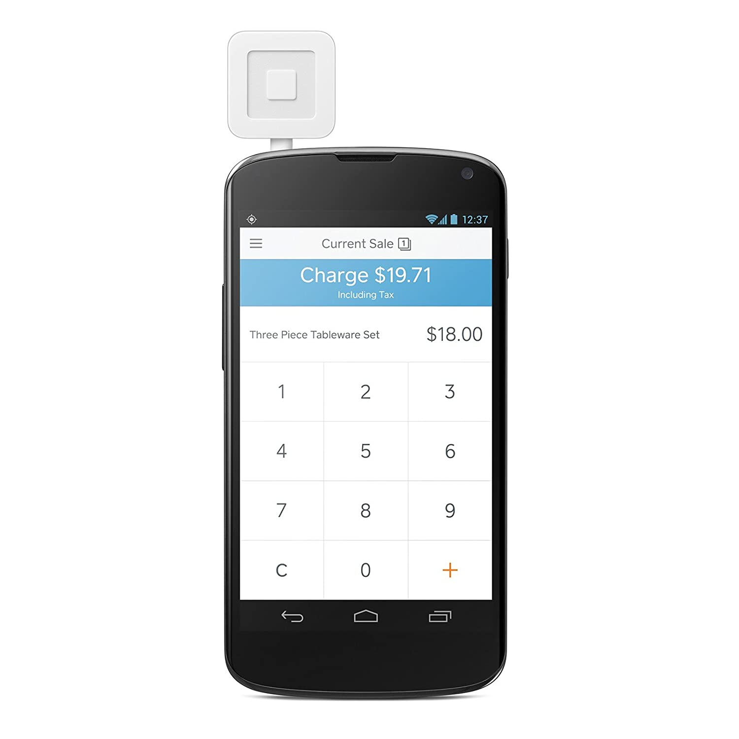 Amazon.com: Square Credit Card Reader 2014 with 10 Dollar Account ...