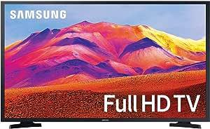 تلفزيون سامسونج سمارت ليد 43 بوصة عالى الدقة مع وحدة استقبال مدمجة، اسود -UA43T5300AUXEG
